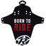 Reverse Born to Ride - Guardabarros - rojo/negro